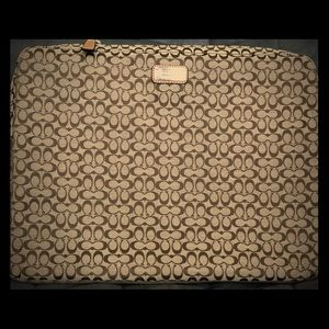Coach Laptop Case